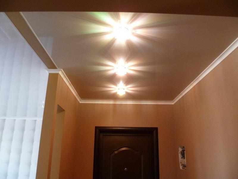 Расположение светильников в коридоре фото